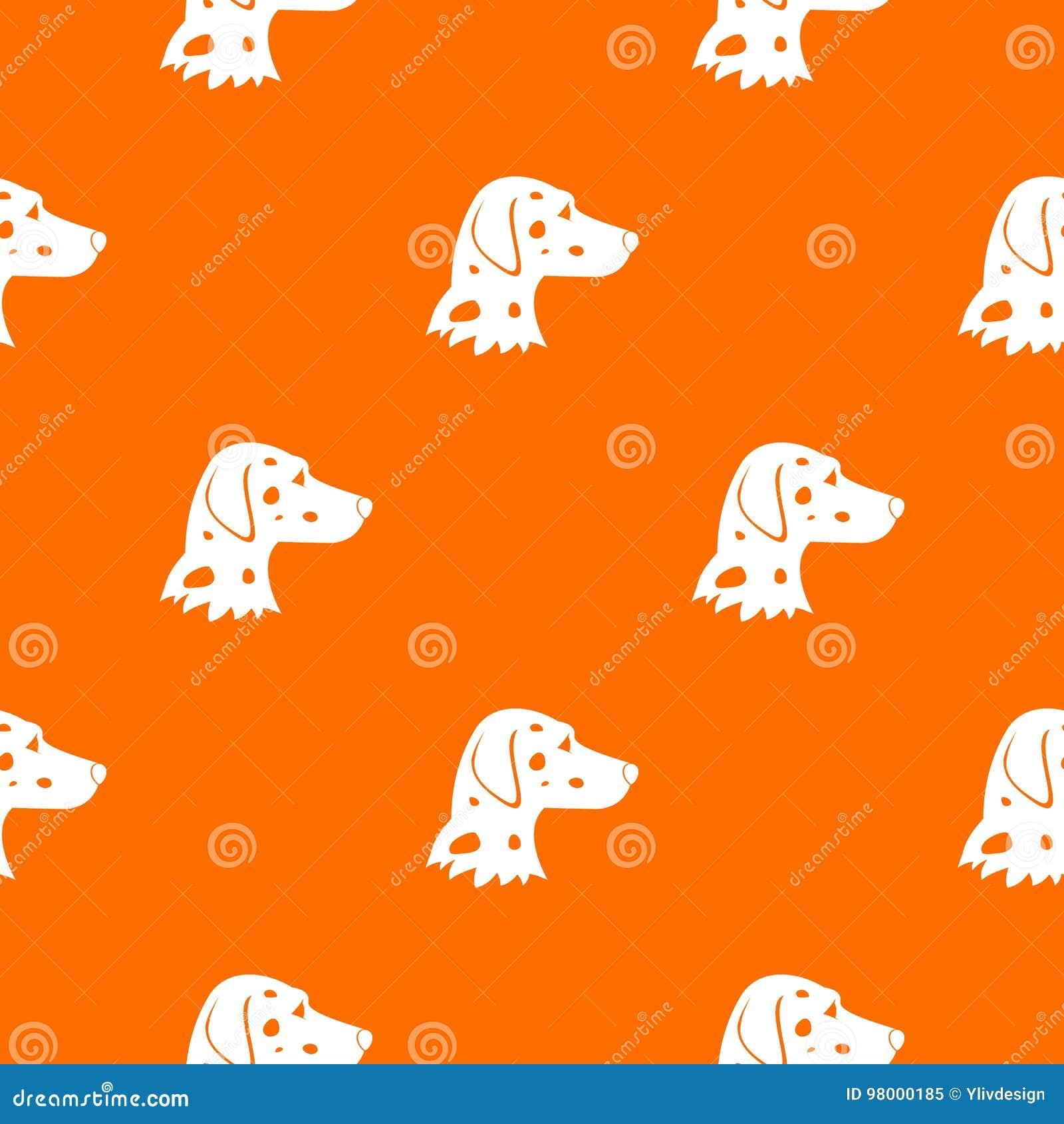 Dalmatians Dog Pattern Seamless Stock Vector Illustration Of Ears
