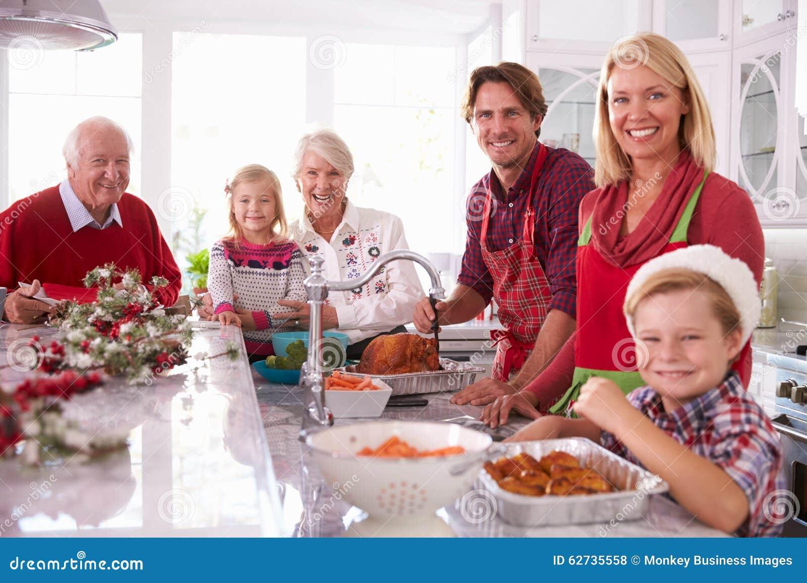 Dalszej Rodziny Grupowy fastrygowanie Bożenarodzeniowy Turcja W kuchni