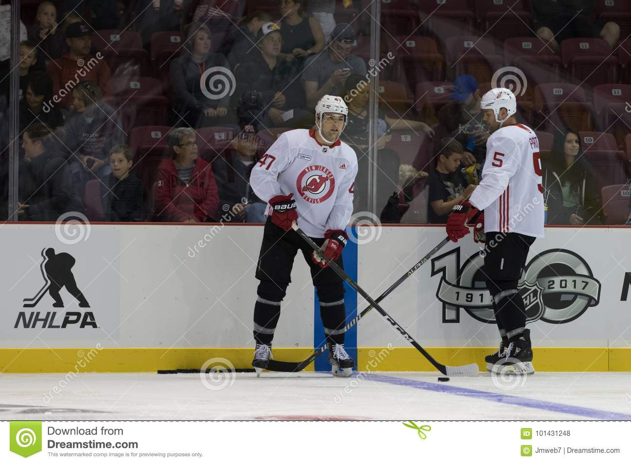 Dalton Prout At The Blue Line Editorial Stock Photo Image Of