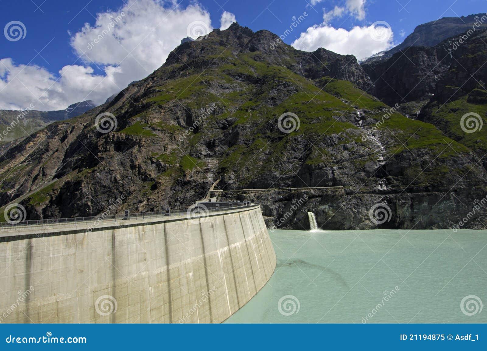 Dam of Lake Mauvoisin