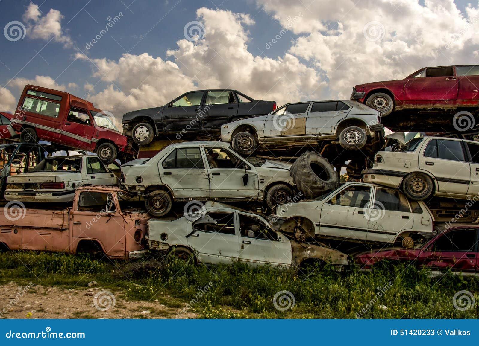 How To Recyce Broken Car Parts
