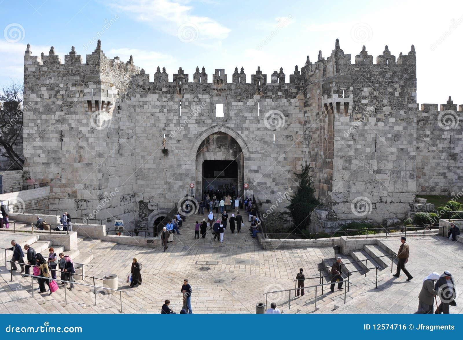 Damascus стробирует Иерусалим
