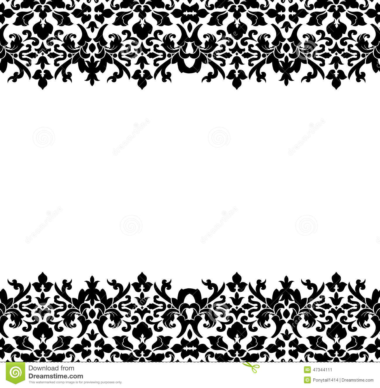 Fancy gold corner borders png
