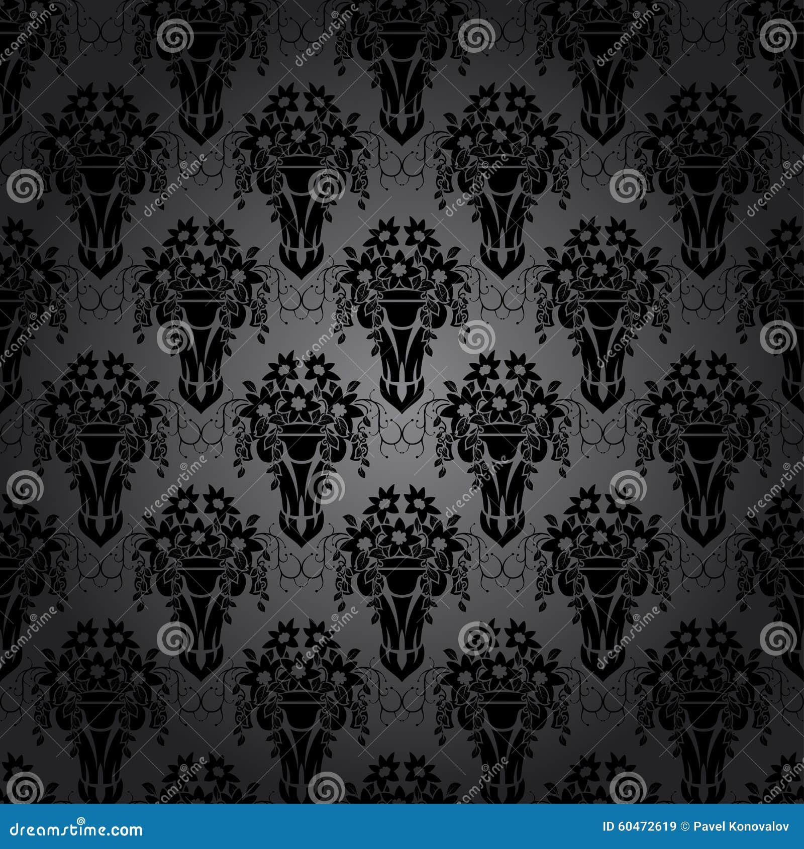 swirling royal pattern wallpaper - photo #22