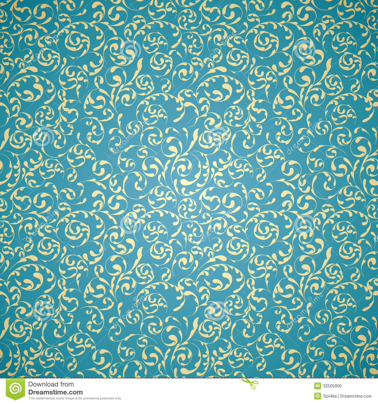 Abstract vintage background stock images image 31930534 - Damask Seamless Pattern Stock Photo