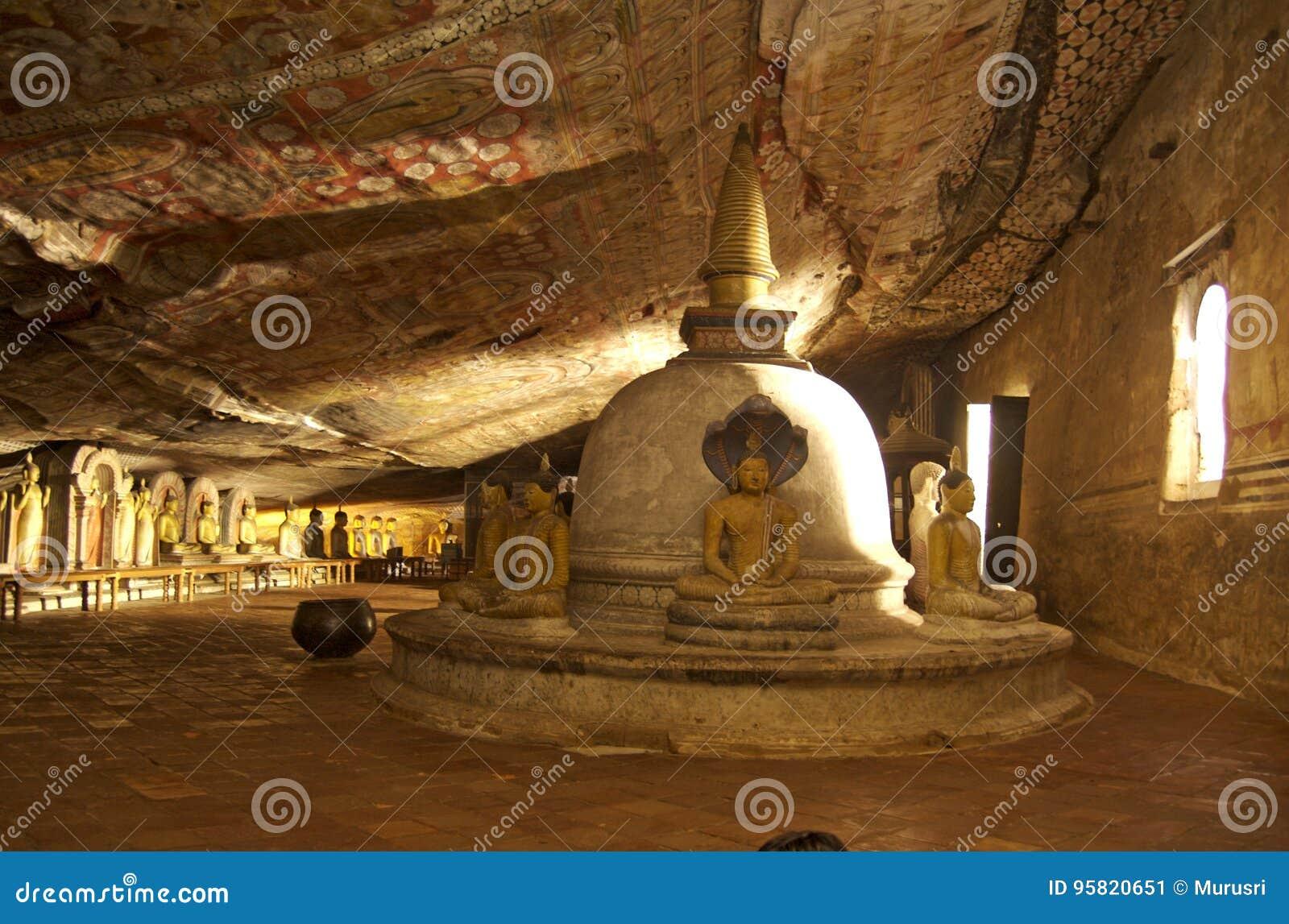 Dambulla-Höhlen-Tempel - Sri Lanka