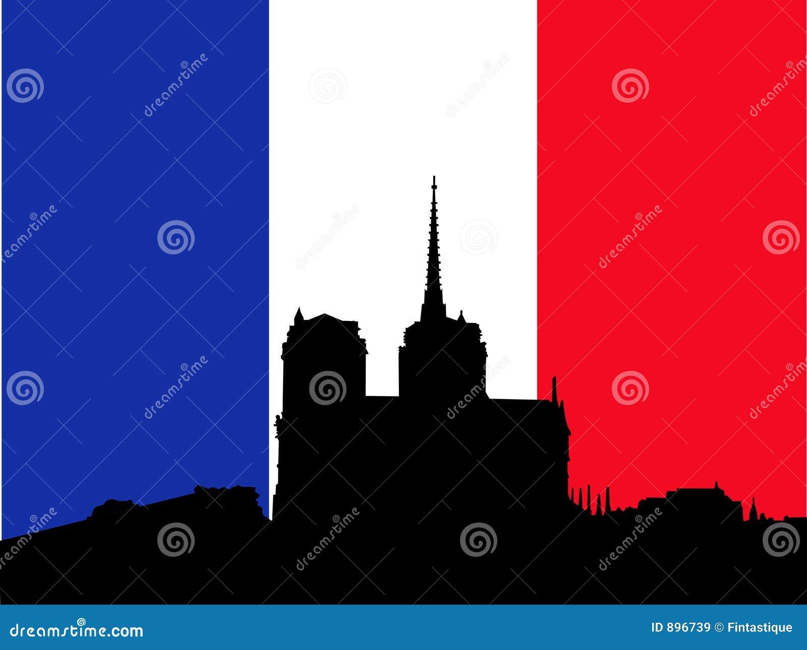 Dame bandery notre francuski