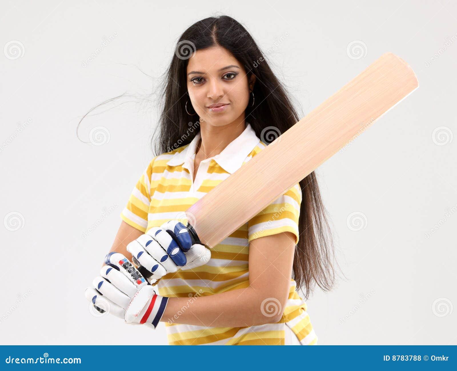 Dame de fixation de cricket de  bat