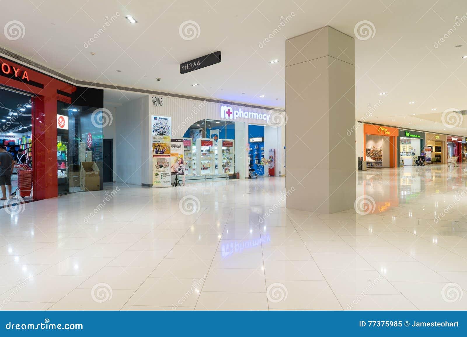 Damen-Einkaufszentrum in USJ, Subang Jaya, Malaysia