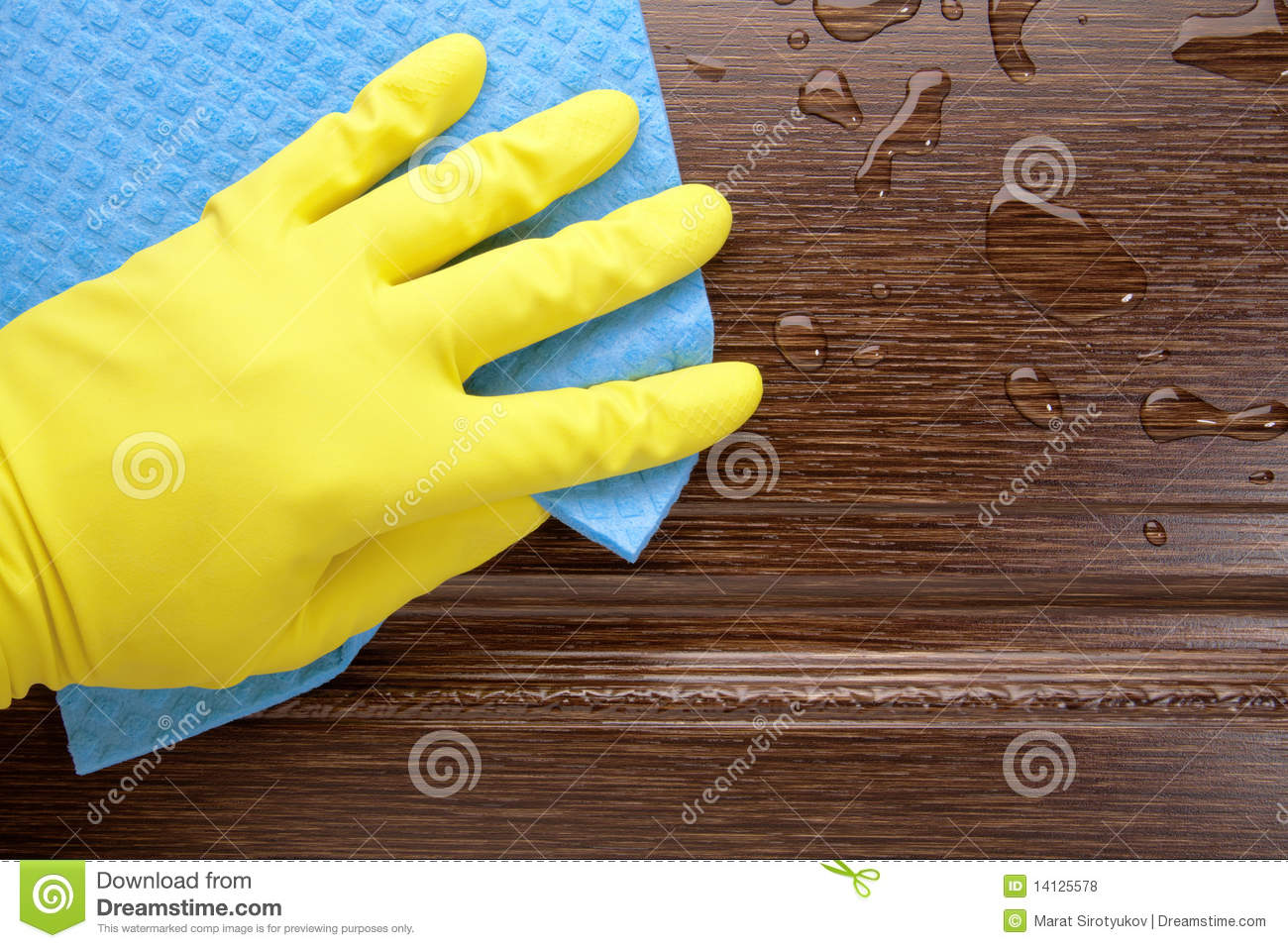 Damp cleaning royalty free stock photos image 14125578 - Pulire porte legno ...