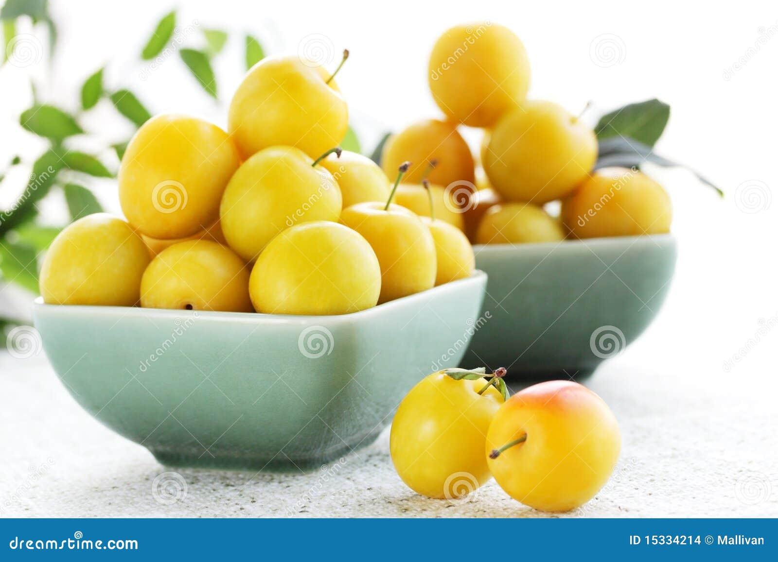 Алыча желтая на зиму рецепты