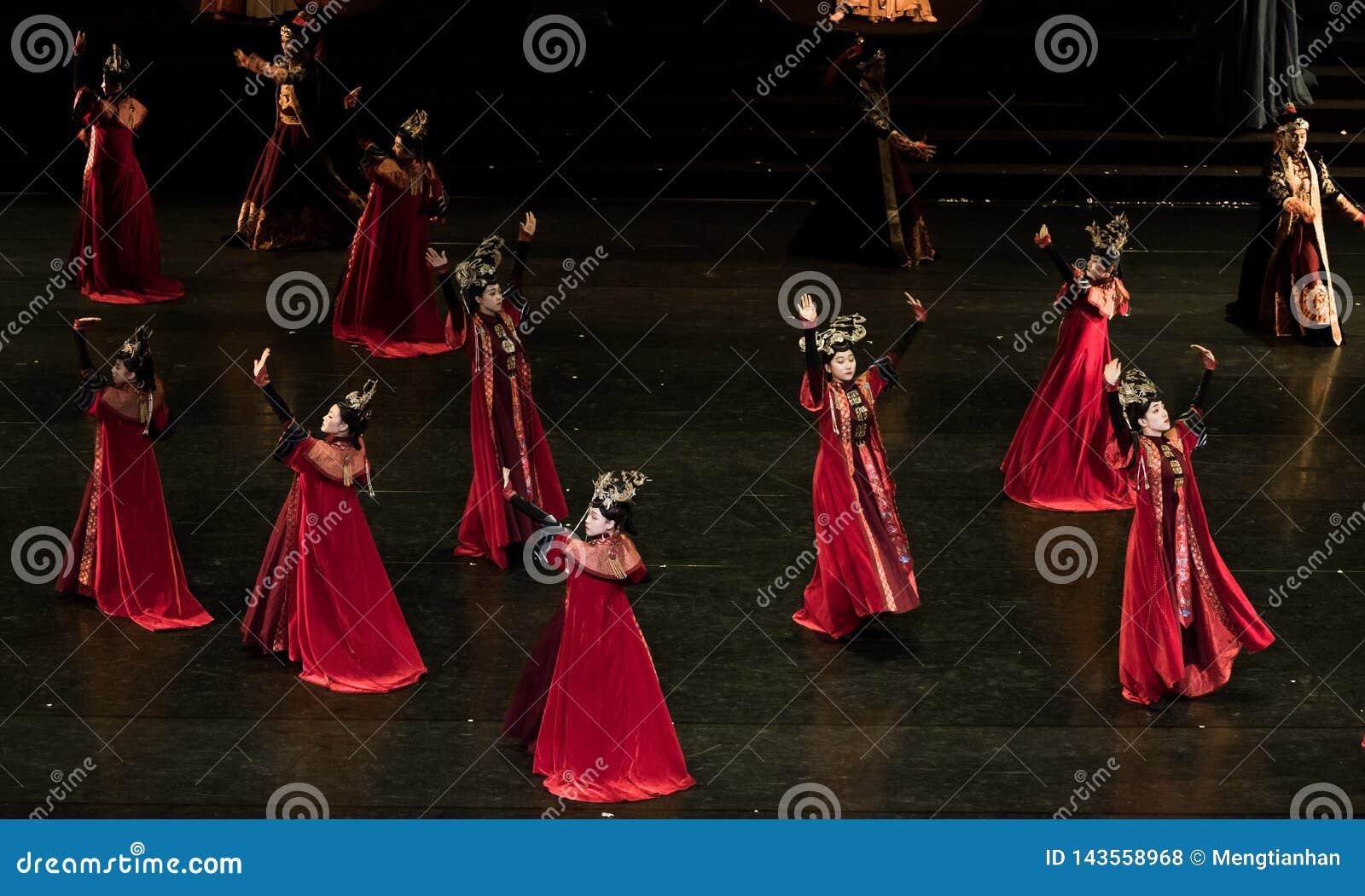 Dança de corte da dança 7-Classical de Geiger