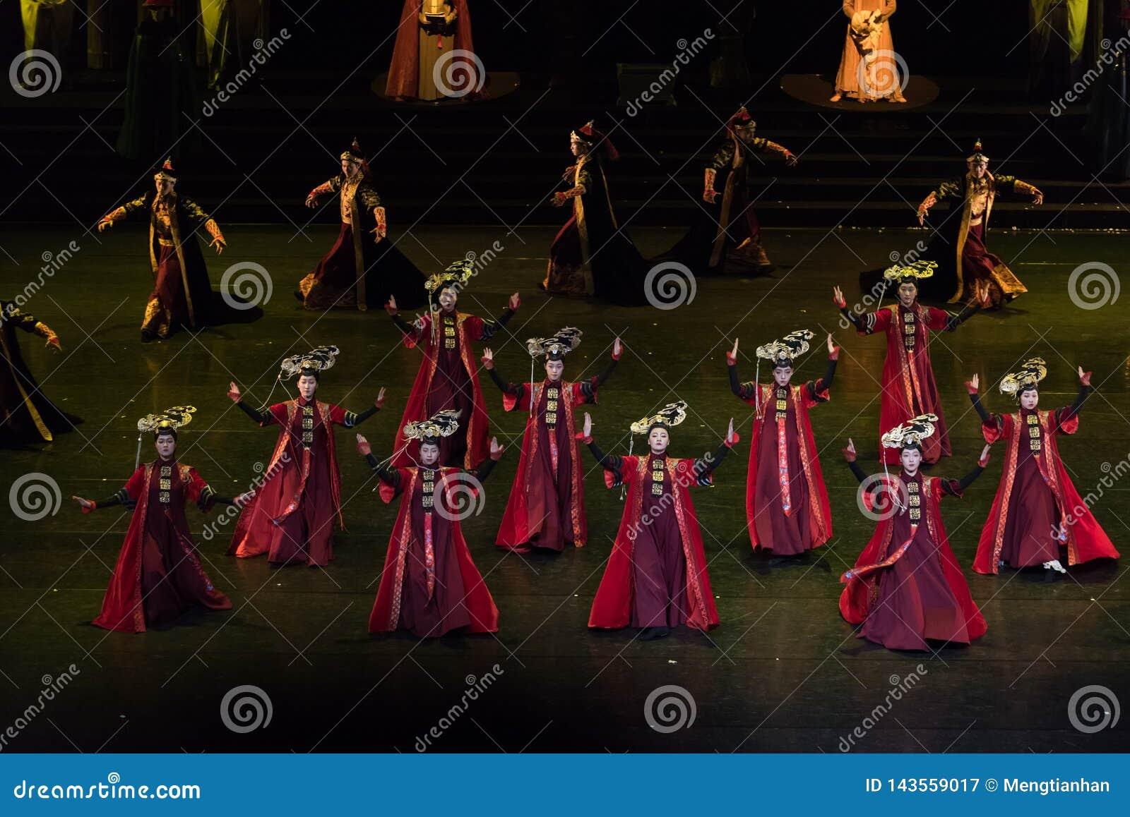 Dança de corte da princesa Gege Dance 3-Classical