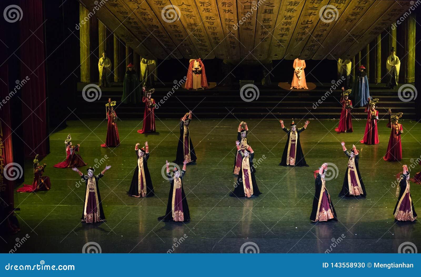 Dança de corte Mongolian de Daligenbayar 1-Classical da dança