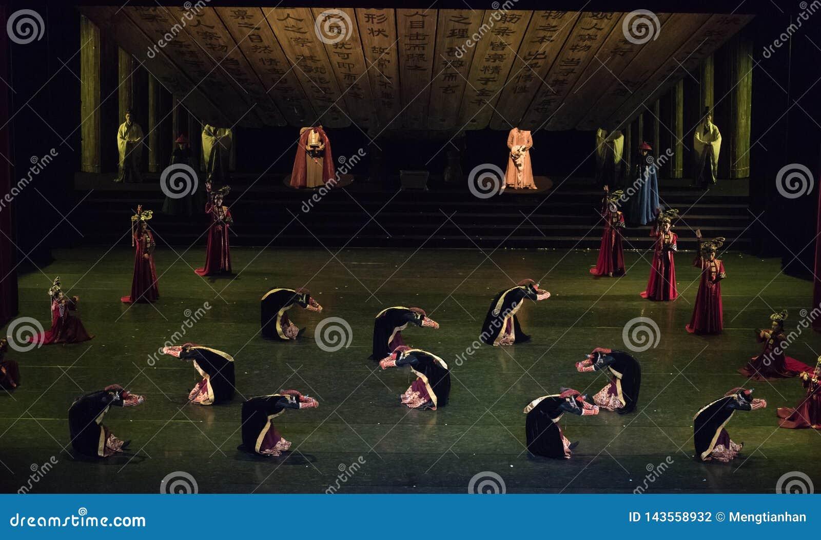 Dança de corte Mongolian de Daligenbayar 2-Classical da dança
