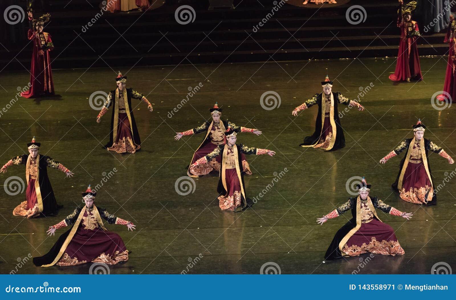 Dança de corte Mongolian de Daligenbayar 3-Classical da dança
