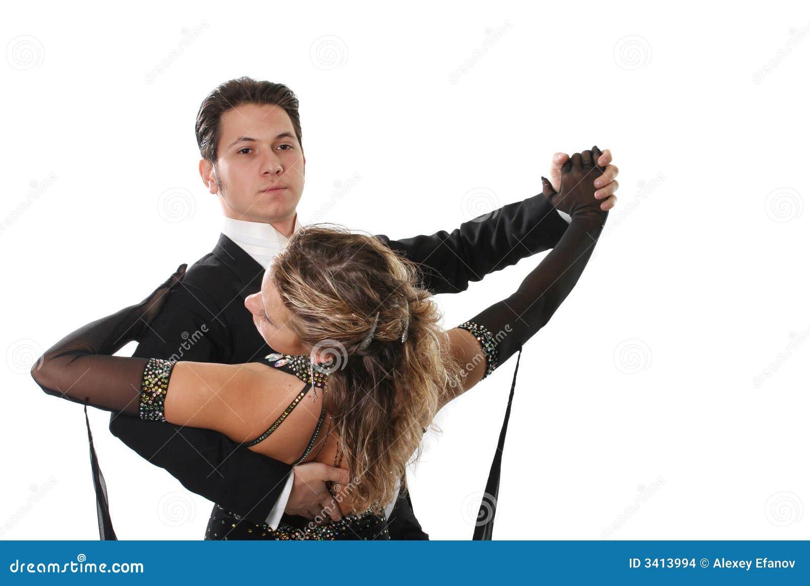 Dança de salão de baile
