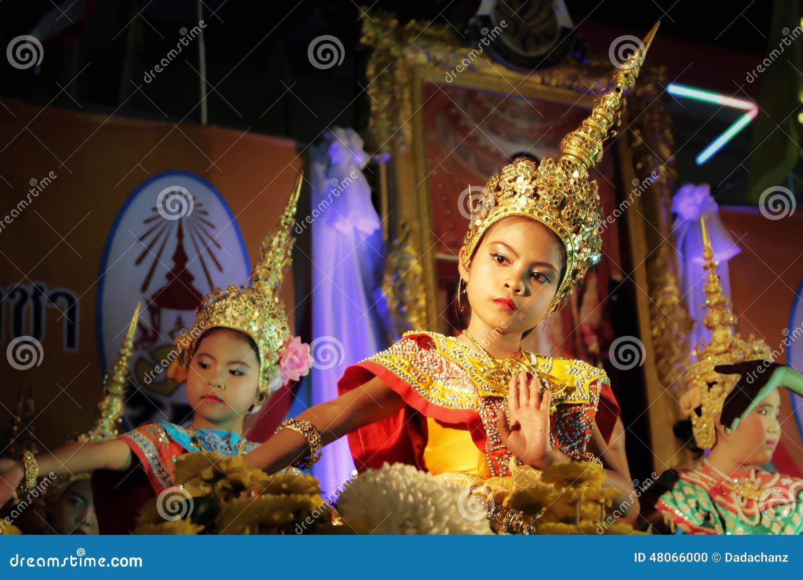 Dança tailandesa