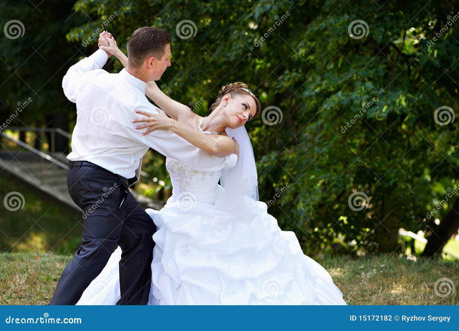 Dança Wedding no parque
