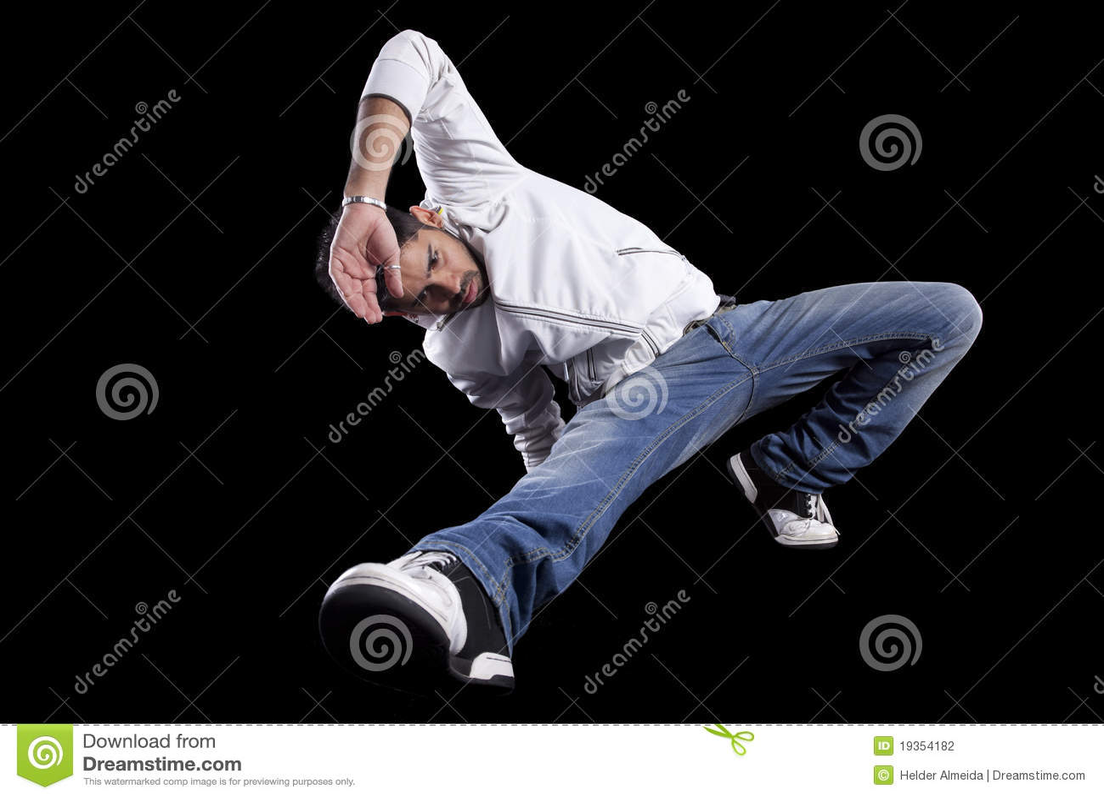Dançarino do lúpulo do quadril