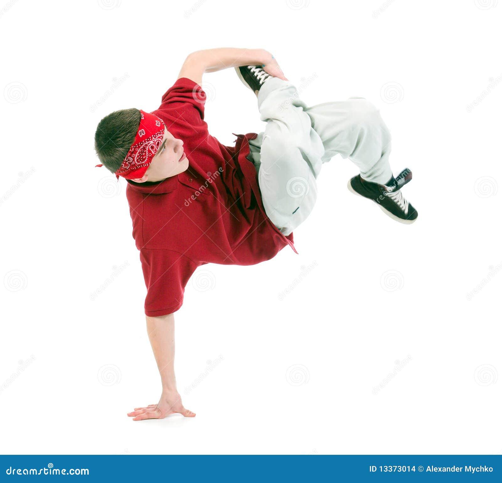 Dançarino fresco do estilo do lúpulo do quadril
