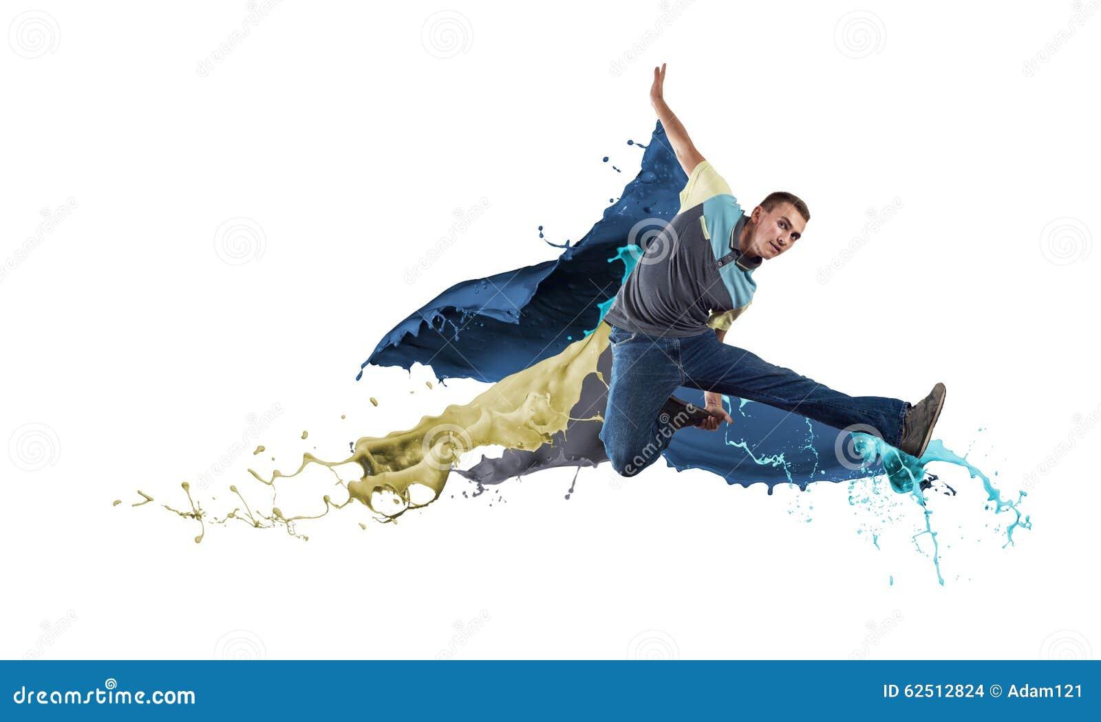 Dançarino no salto