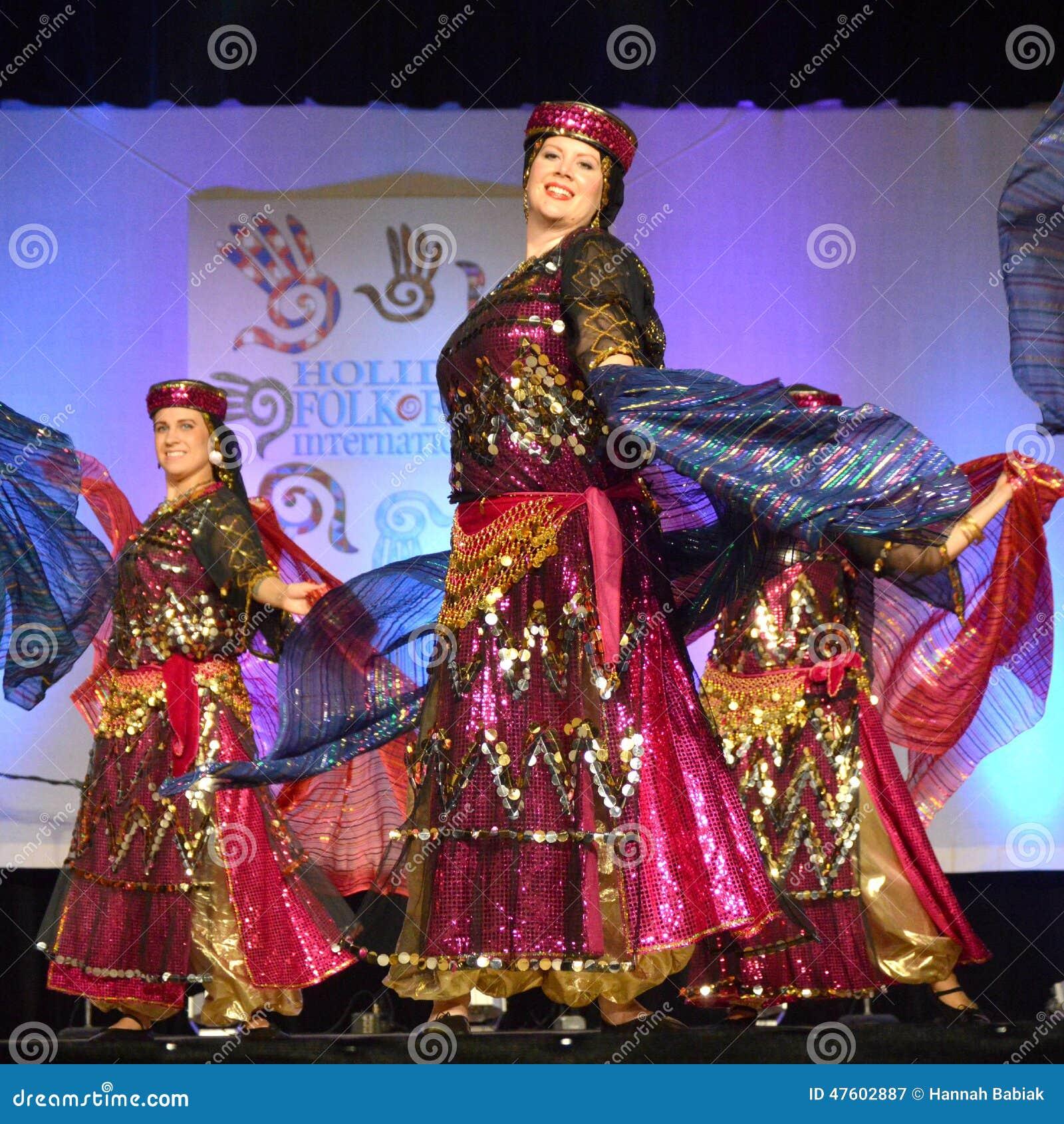 Dançarinos do Oriente Médio