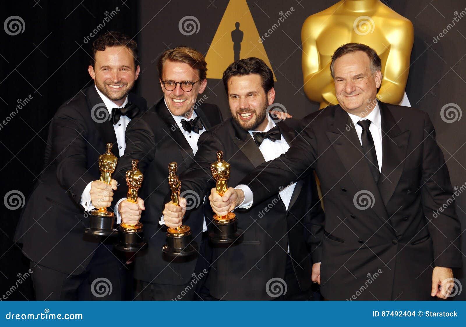 Dan Lemmon, Andrew R. Jones, Adam Valdez and Robert Legato