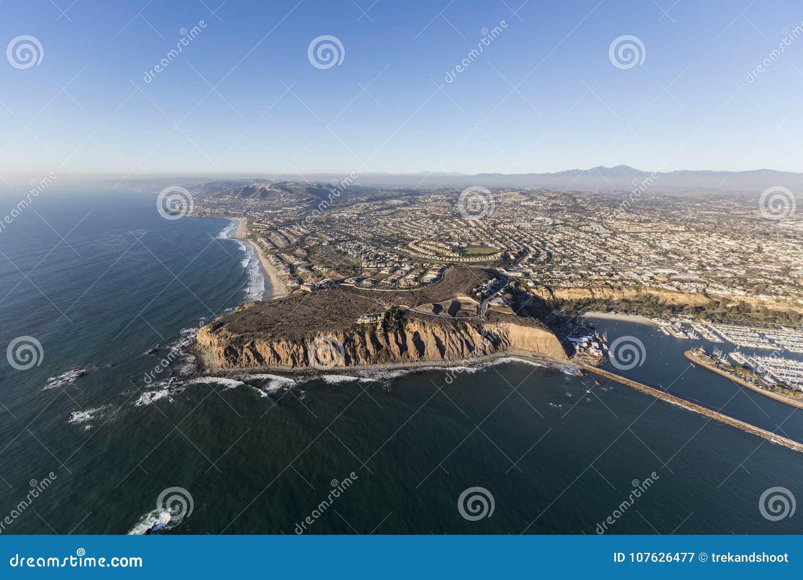 Dana Point California Aerial