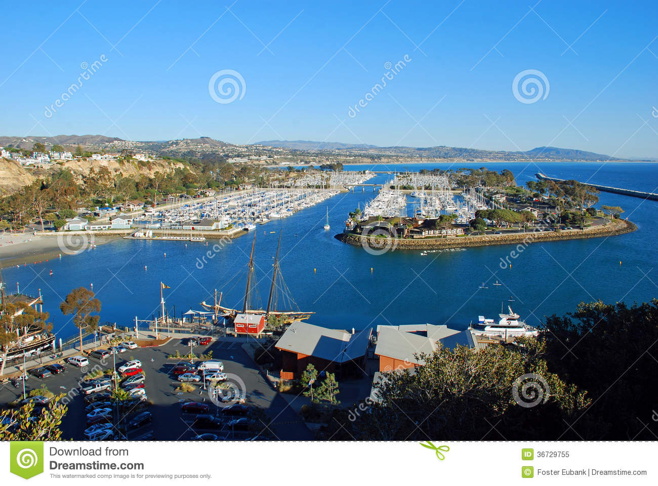 Dana point harbor southern california stock image image for Dana point harbor fishing