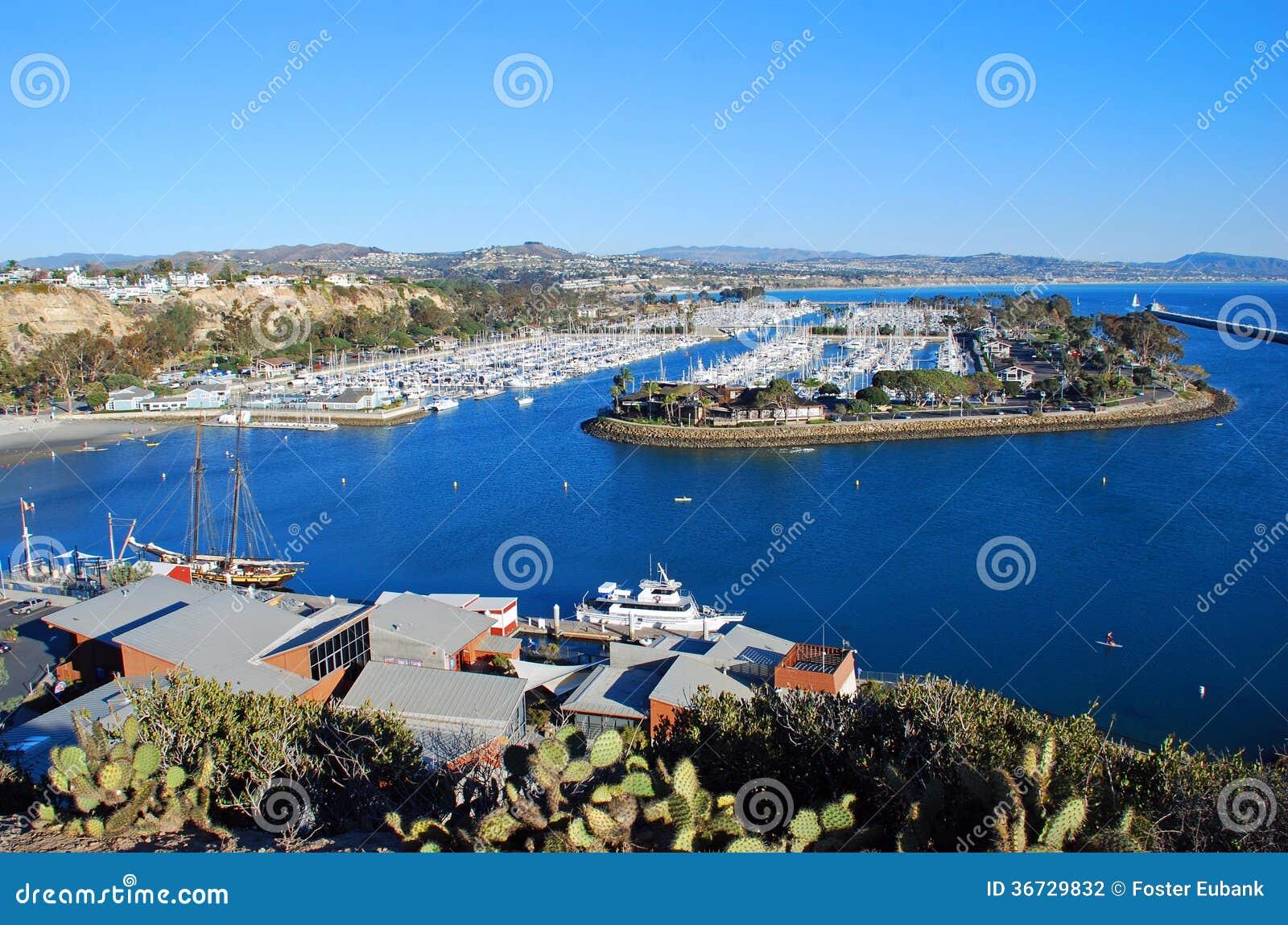 Dana Point Harbor, Southern California. Stock Photography ...