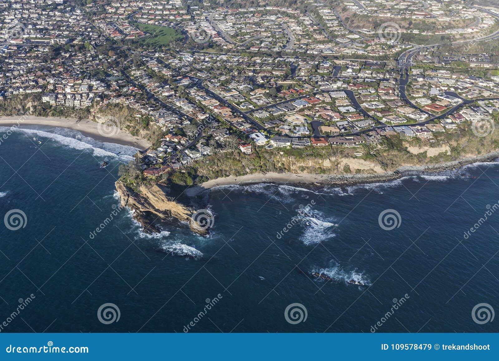 Dana Point Mussel Cove Aerial