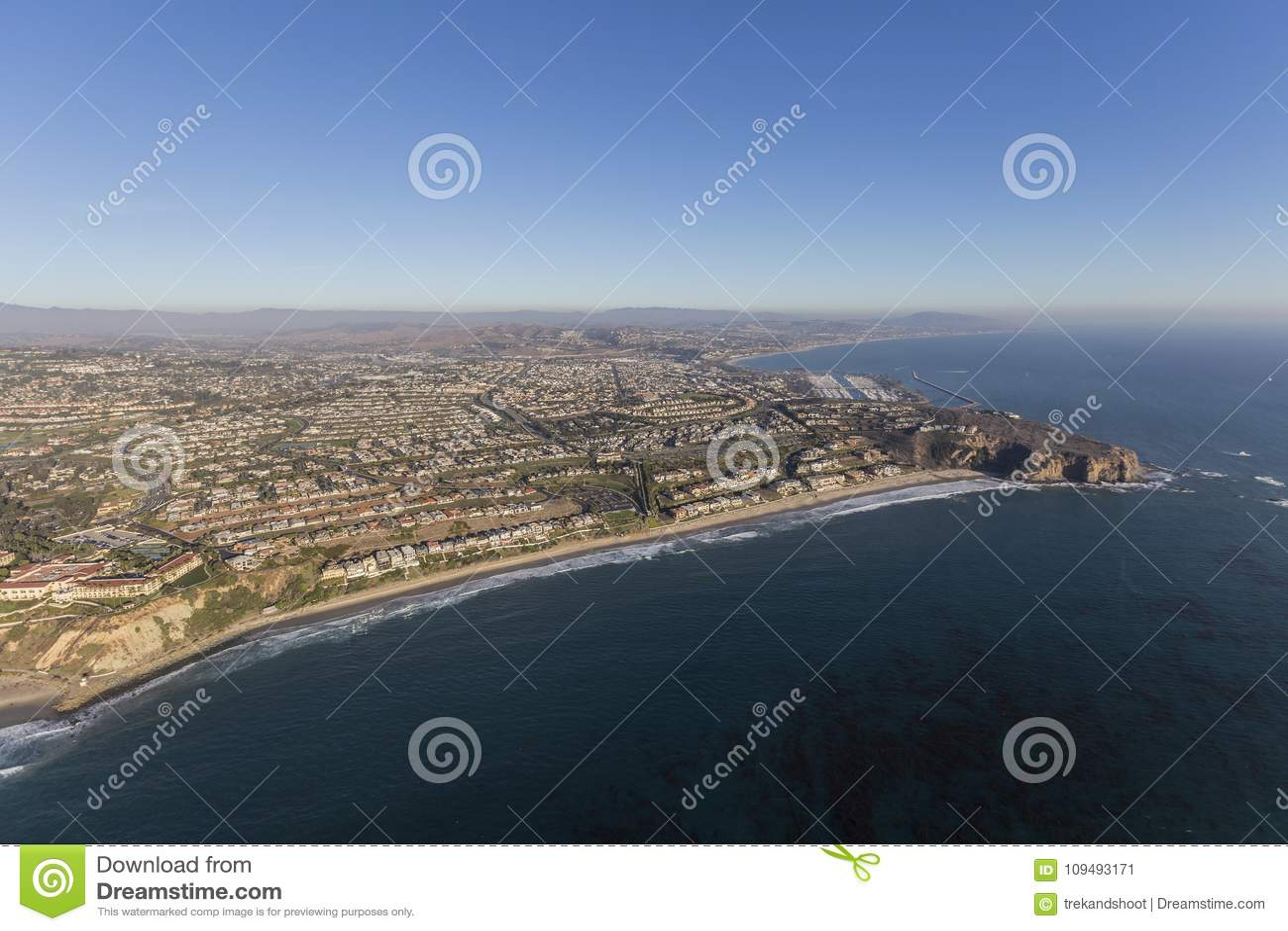 Dana Point Orange County California kustantenn