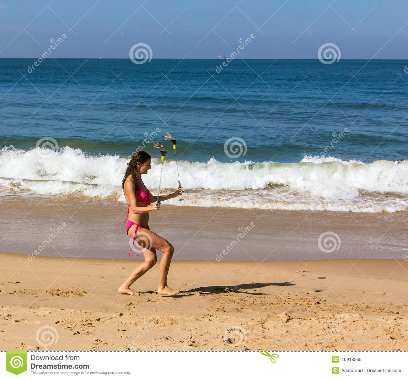 Dance At The Beach Of Goa Stock Image Image Of Nature 40918265