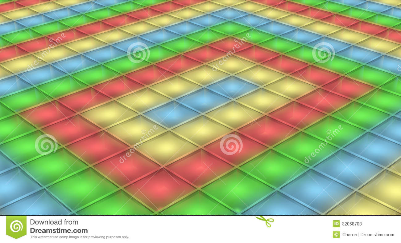 Dance Floor Disco Light Background Stock Photo Image