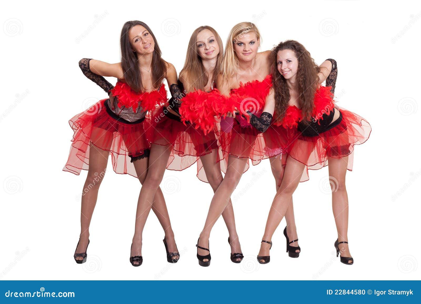 Dance Group Stock Photo - Image: 22844590