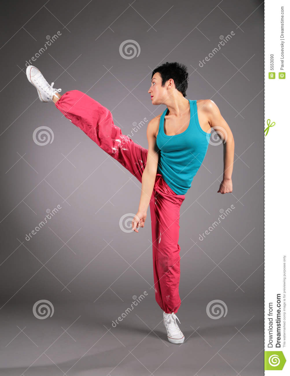 Dance Hip Hop Girl Stock Photo Image Of Adult, Casual -1822