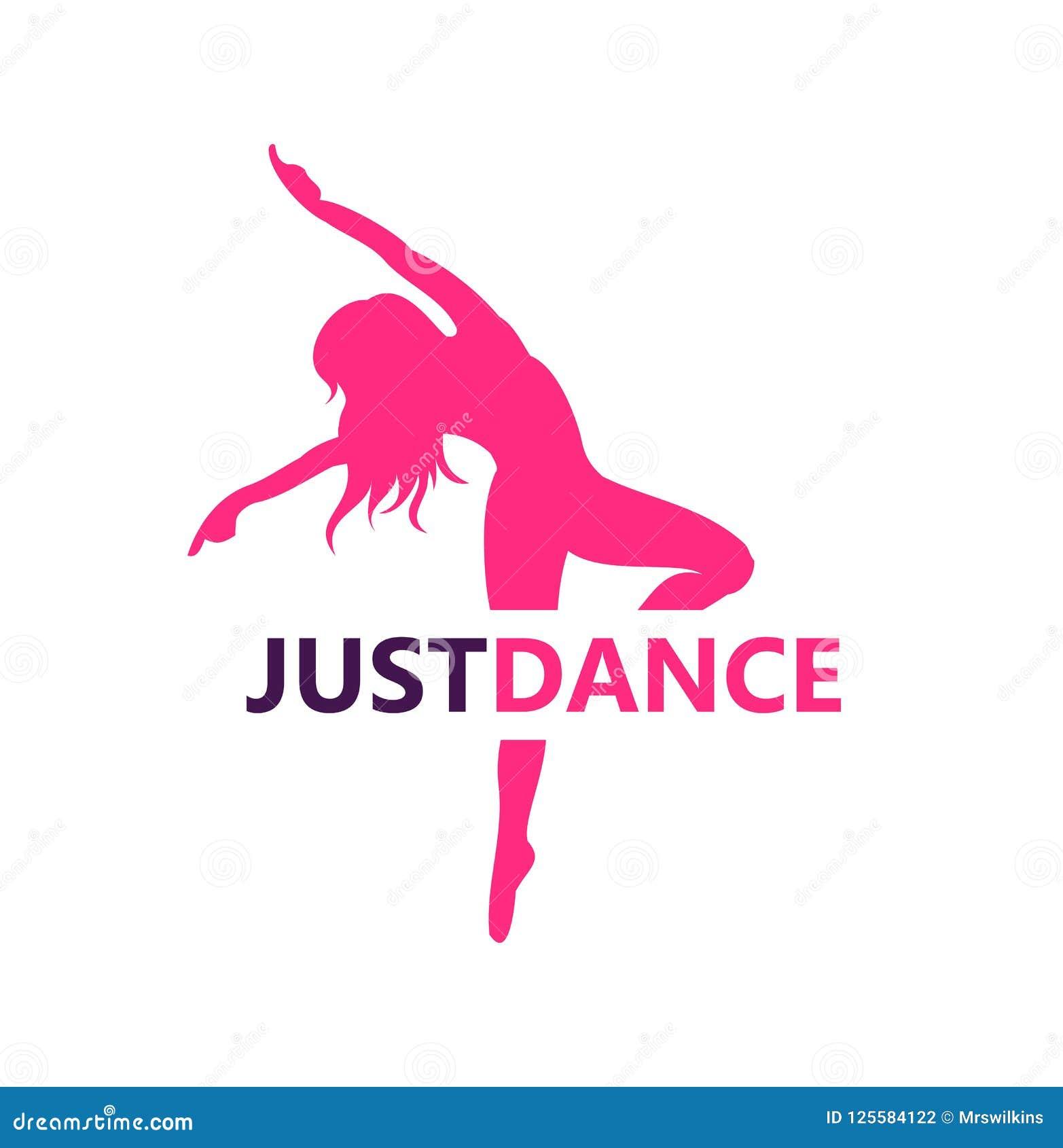 Dance logo design symbol stock illustration. Illustration ...