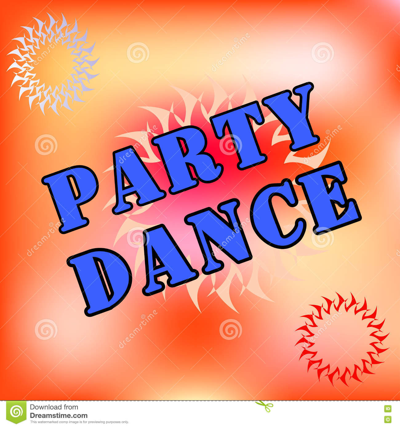 Dance Party . Business Cards , Brochures . Party Time - Flyer Or ...
