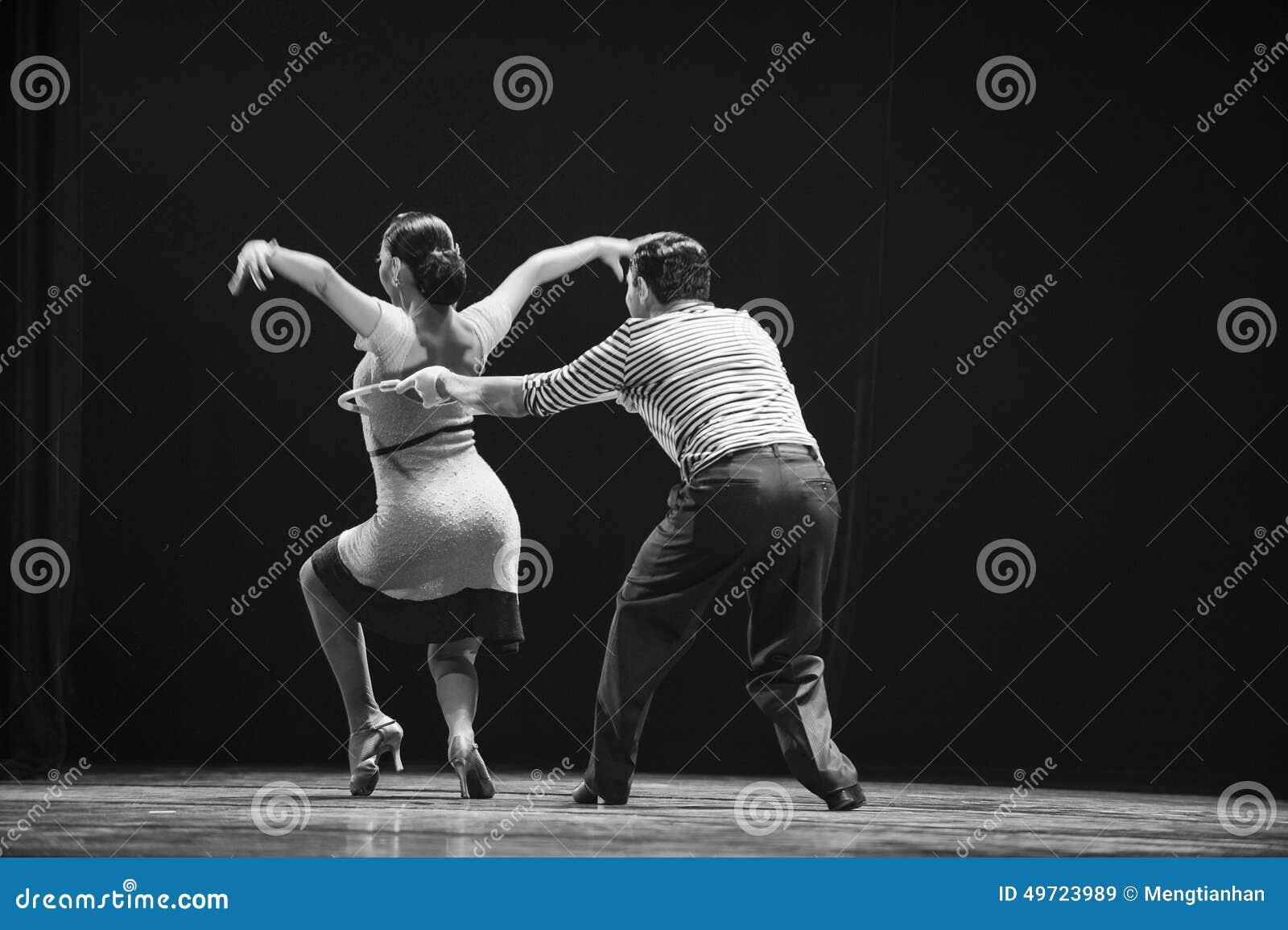 A dance step