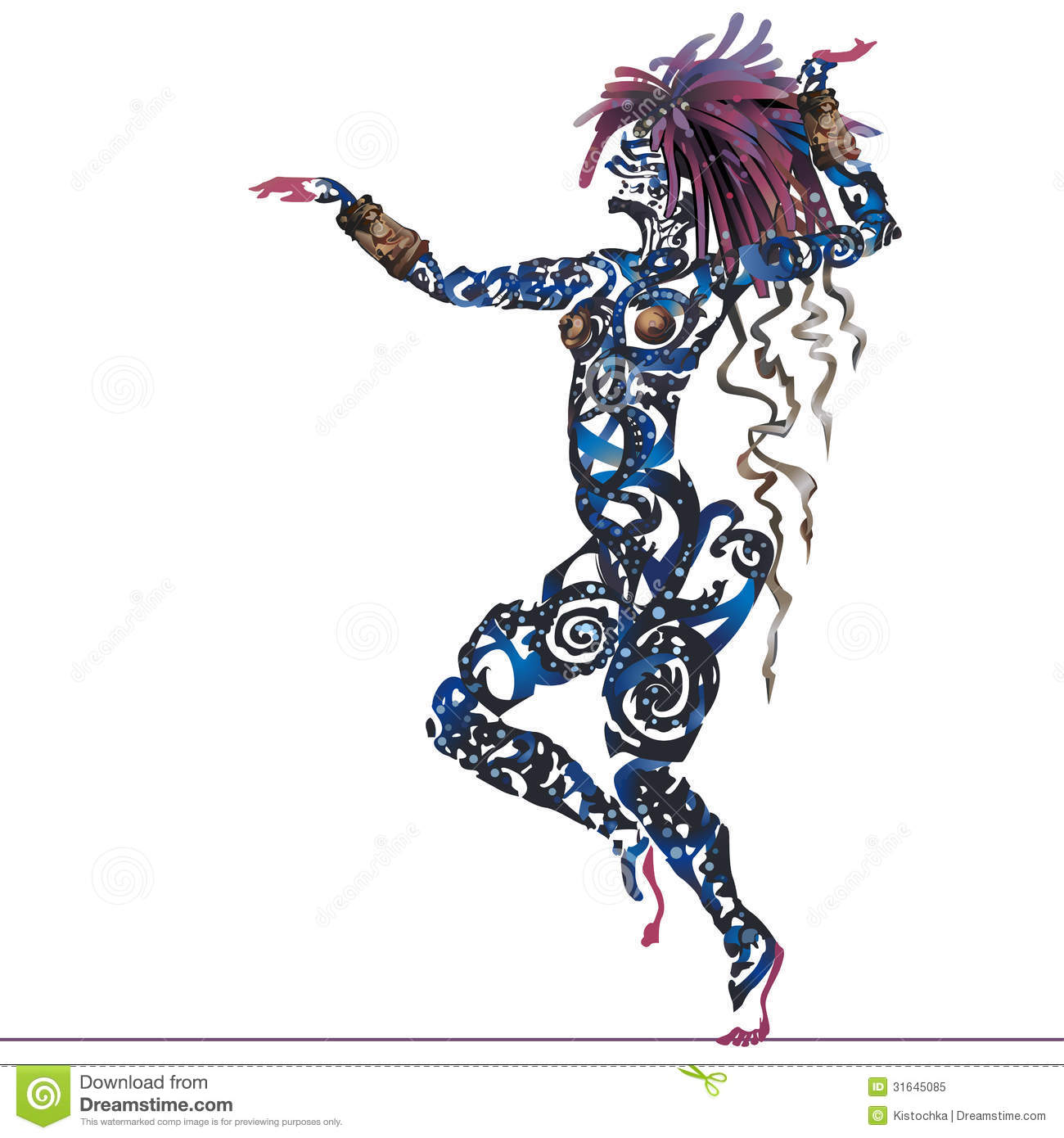 Dance Tattoo Stock Illustrations 3 012 Dance Tattoo Stock Illustrations Vectors Clipart Dreamstime