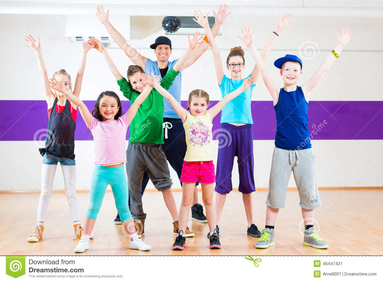 dance teacher giving kids zumba fitness class children gym 46447421 dance stock photos, images, & pictures 0 images,Childrens Zumba Clothes