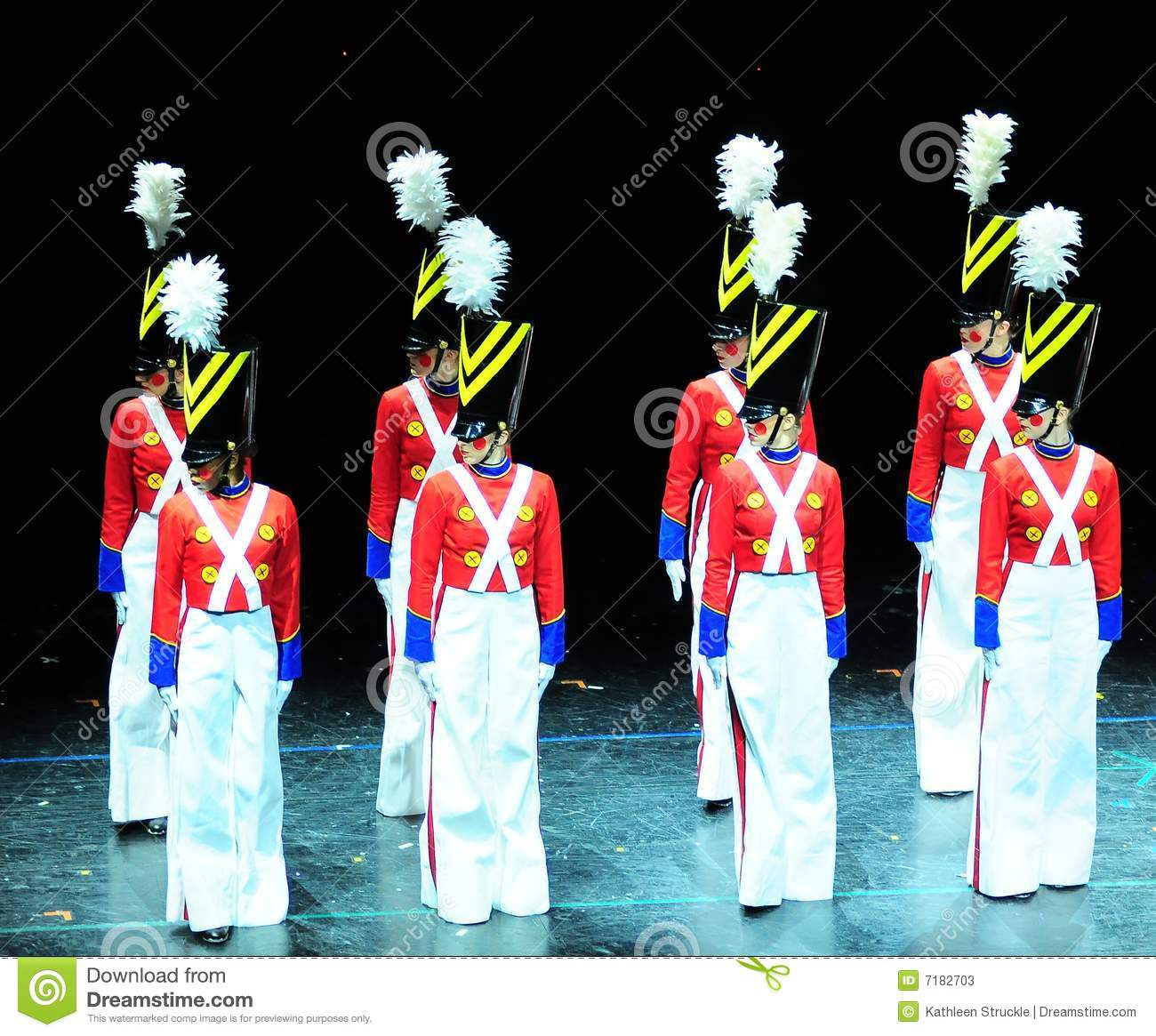 Toys For Dance : Dance of the toy soldiers editorial stock photo image