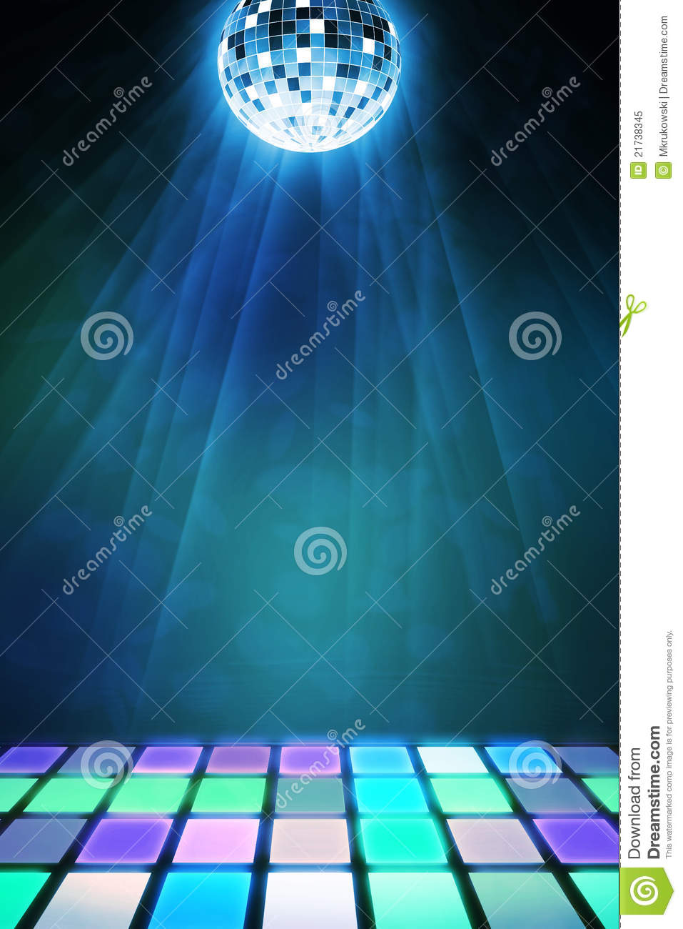 Dancefloor Background Royalty Free Stock Photo Image