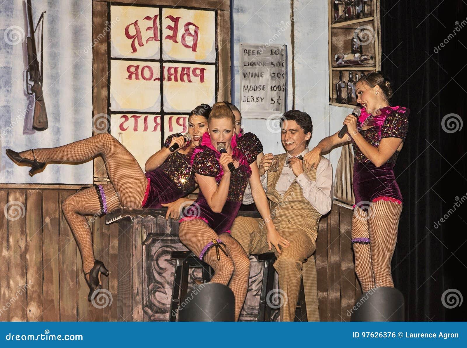 Dancehall Girls Entertain in Skit