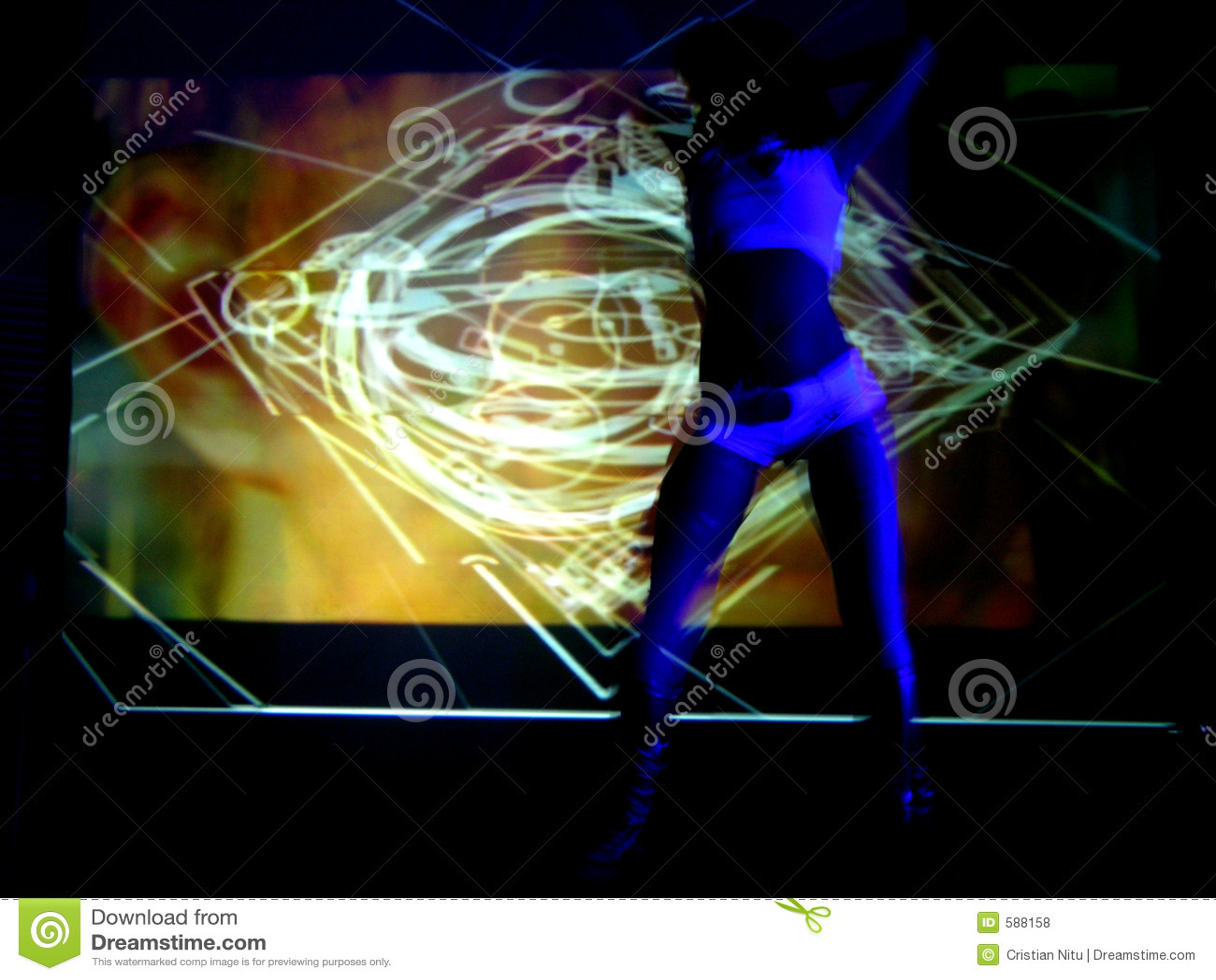 Dancer In Action