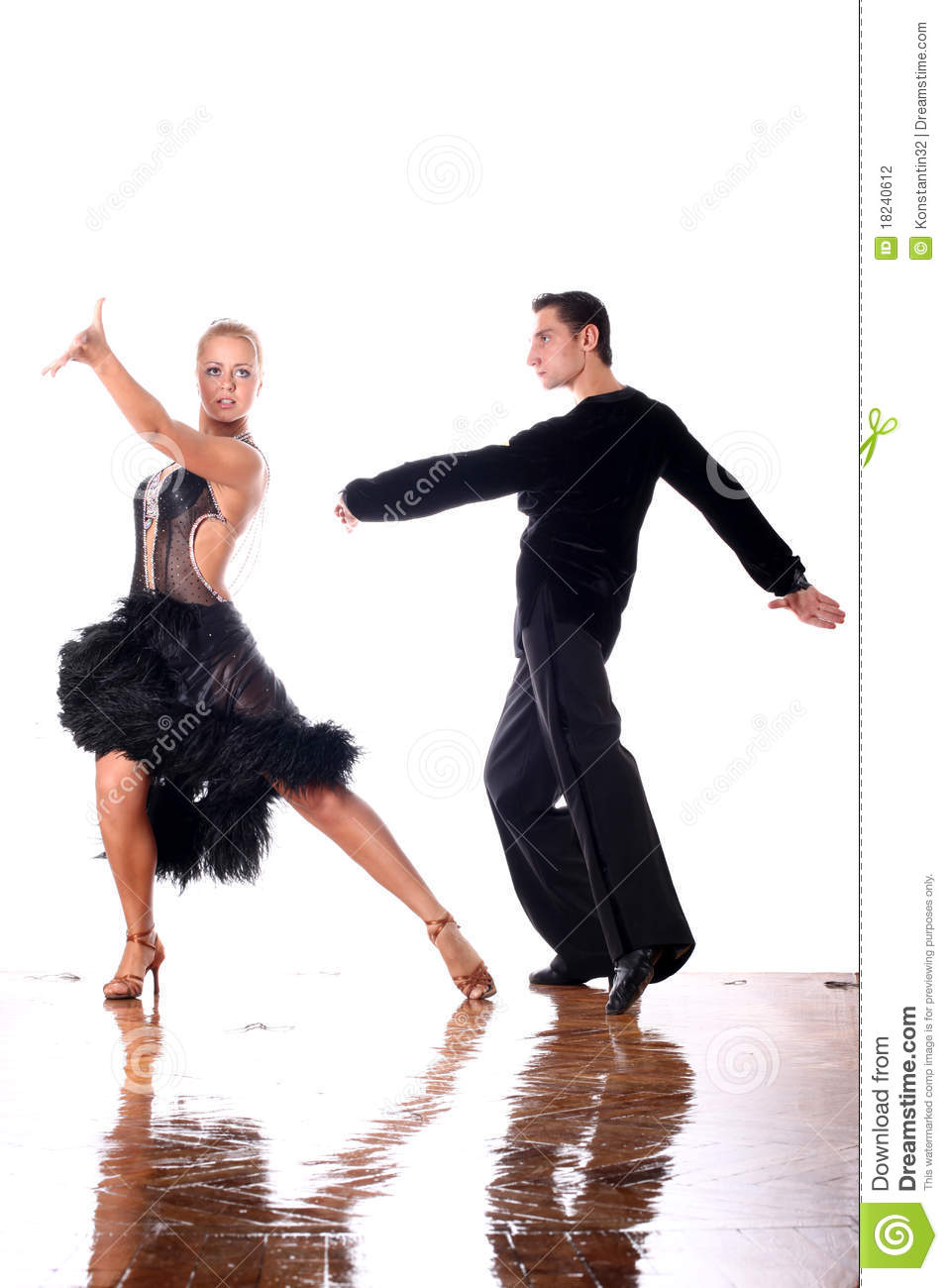 Dancers In Ballroom Stock Photography - Image: 18240612