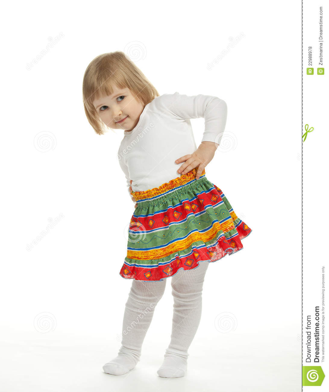 Dancing Baby Girl Royalty Free Stock Photos - Image: 22988978: dreamstime.com/royalty-free-stock-photos-dancing-baby-girl...