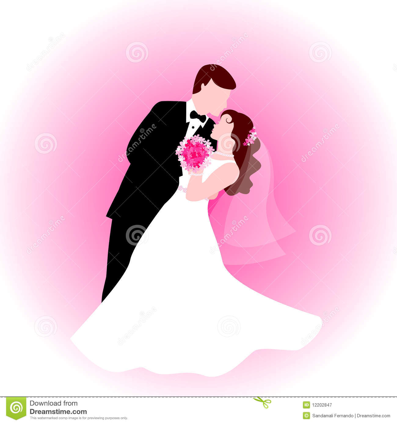 Dancing couple with pink background stock vector illustration of dancing couple with pink background kristyandbryce Gallery