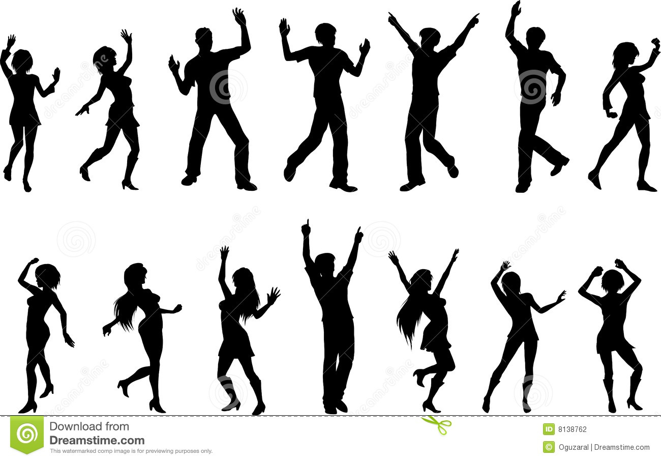 Dancing Figures Stock Photography - Image: 8138762